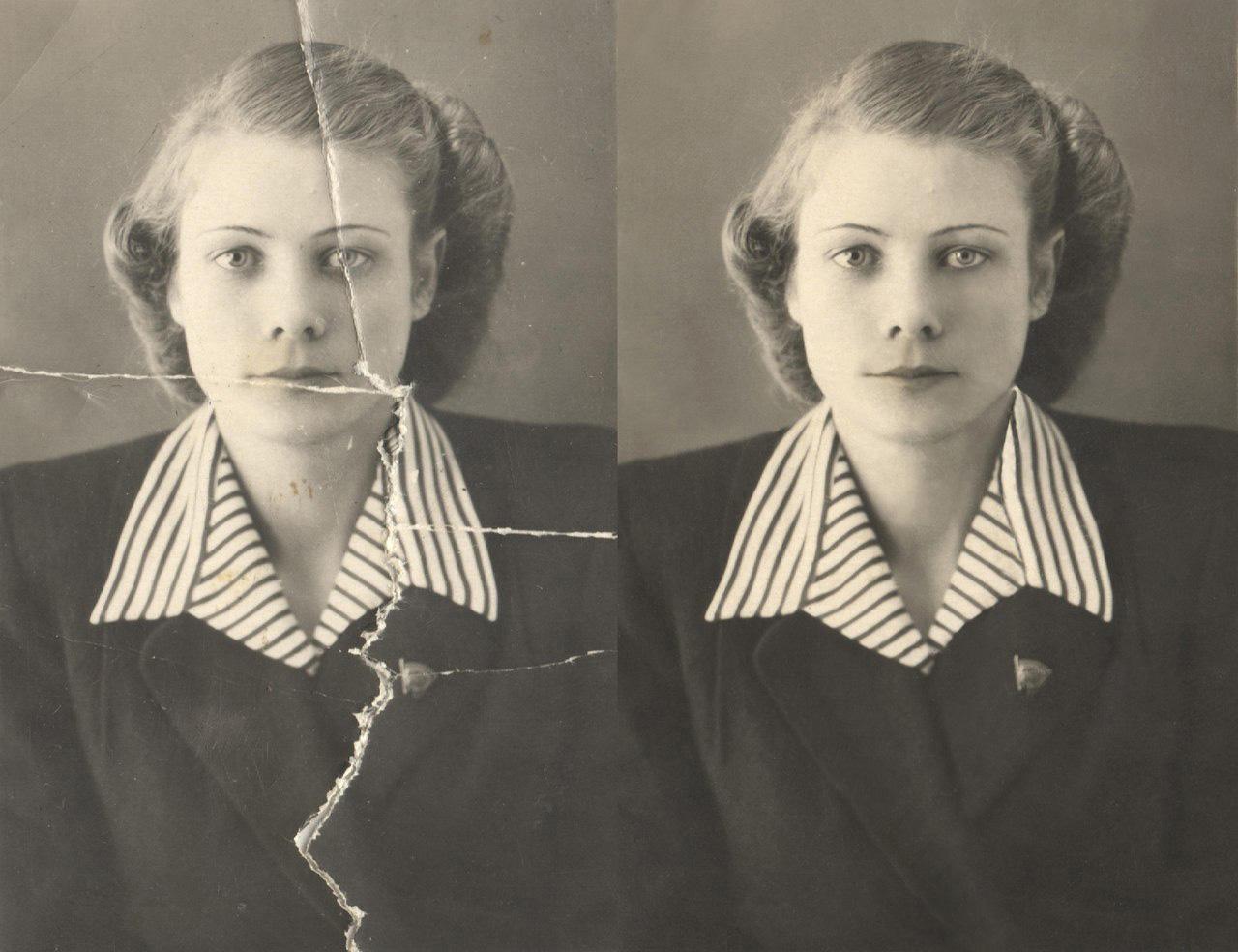 приемы реставрации старых фотографий этих алмазов были
