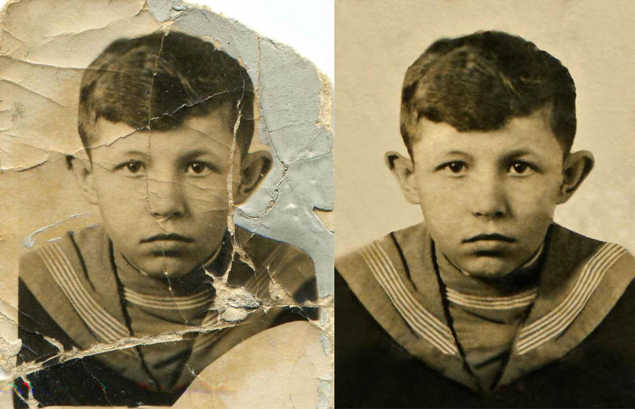 Восстановление старых фотографий в юао